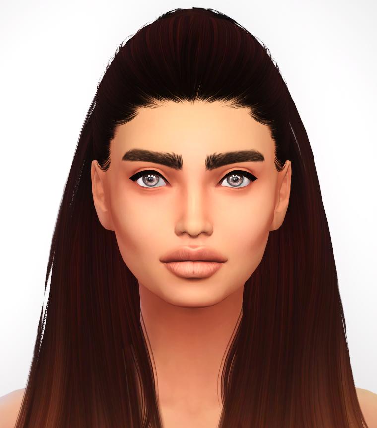 Sims 4 girl hairs